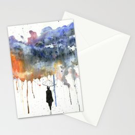 Waiting For The Sun. Stationery Cards