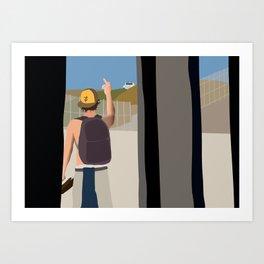 F*** the police Art Print