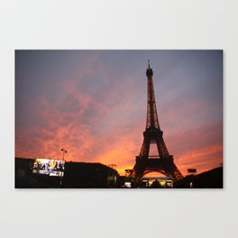 Mesmerized in Paris Canvas Print