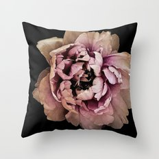 Lush Peony, Nobility And Honour Throw Pillow