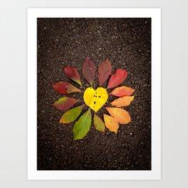 Leaf Love No.3 Art Print