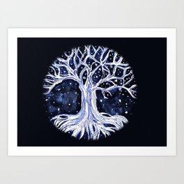 Tree of Life 2 (Dark Background) Art Print