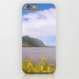 Kualoa Waiahole Beach Park Kaneohe Bay Oahu island Hawaii | Sea Nature Ocean Landscape Travel Photography iPhone Case
