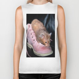 The Old Hamster in the Shoe Biker Tank