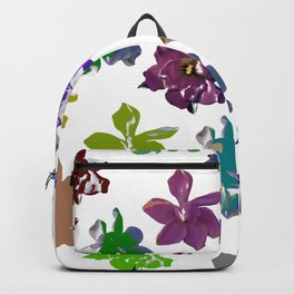 Gardenias in Color [Cecilia Lee] Backpack