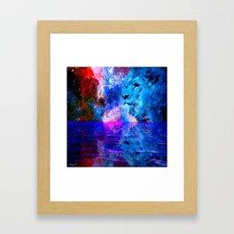 BEHOLD THE LION OF JUDAH Framed Art Print