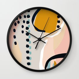 modern abstract Wall Clock