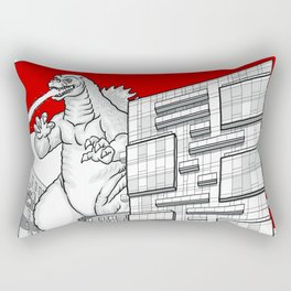 strathcona village attack Rectangular Pillow