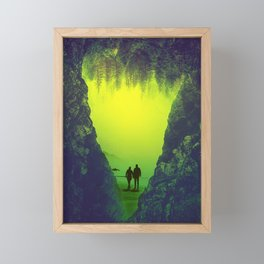 Toxic Forestry Together Framed Mini Art Print