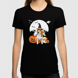 Happy Halloween Little Witch Beagle T-shirt