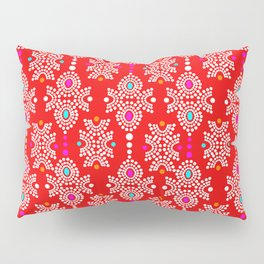 Stella in Red Pattern Pillow Sham