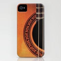 Acoustic Guitar iPhone (4, 4s) Slim Case