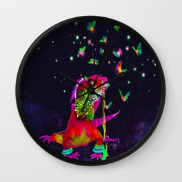 No Manners Wall Clock