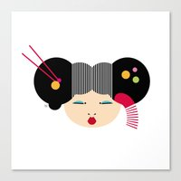japanese Canvas Prints featuring Japanese by Shu | Formanuova
