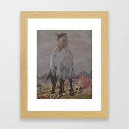 The Carnage of Kelpies Framed Art Print