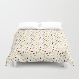 vegetable pattern Duvet Cover