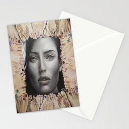 (The world) At their Feet. Bianca Balti. Stationery Cards