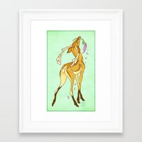 casablanca Framed Art Prints featuring Casablanca by CanisAlbus