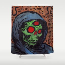 Occult Macabre Shower Curtain