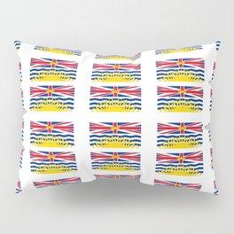 flag of british columbia -prairie,canadian, canada,vancouver,victoria,columbian. Pillow Sham