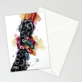 Depressed mood Stationery Cards