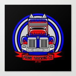 Prime Trucking Co. Canvas Print