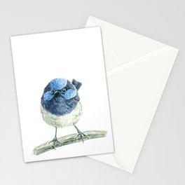 Fairy wren bird Stationery Cards
