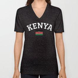 Kenya Unisex V-Neck