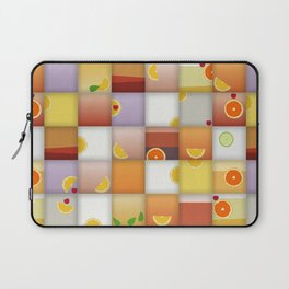 cocktail squares Laptop Sleeve