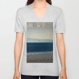 Weekend on the Beach Unisex V-Neck
