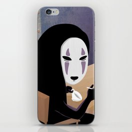 No Face Mm.. Food (MF Doom + Spirited Away) iPhone Skin