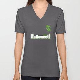HalloWeed Unisex V-Neck