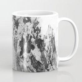 Marble Mountain Black and White I Coffee Mug
