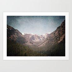 Montana Blues Art Print