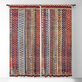 Qashqa'i Amaleh Fars Southwest Persian Rug Blackout Curtain