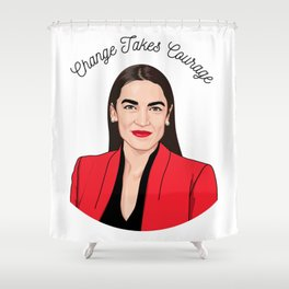 AOC Shower Curtain