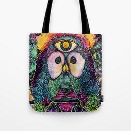 In Cosmic Unison Tote Bag