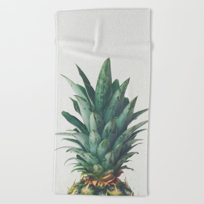 Pineapple Top Beach Towel