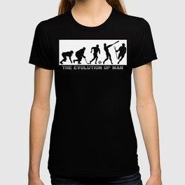 Lacrosse Evolution Of Man T-shirt