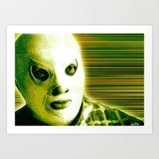 La Lucha - Green Edition Art Print