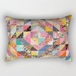 Grandma's Quilt Rectangular Pillow