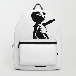 Girl With Red Balloon, Banksy, Streetart Street Art, Grafitti, Artwork, Design For Men, Women, Kids Backpack