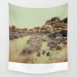 Arches National Park - Polaroid Wall Tapestry