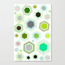Hexa Deal Canvas Print