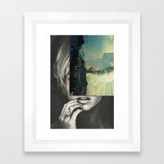 sci-fi nature Framed Art Print