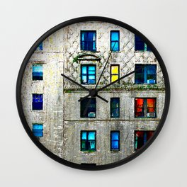 Neighbors Wall Clock