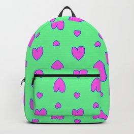 Purple hearts 54 Backpack