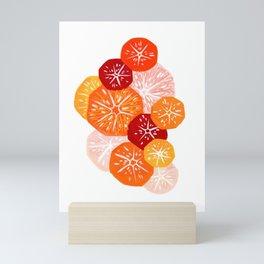 Citrus Salad Love Mini Art Print