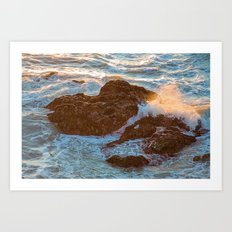 Pacifica Coast Art Print