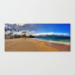 Baldwin Beach North Shore Maui, Hawaii Canvas Print